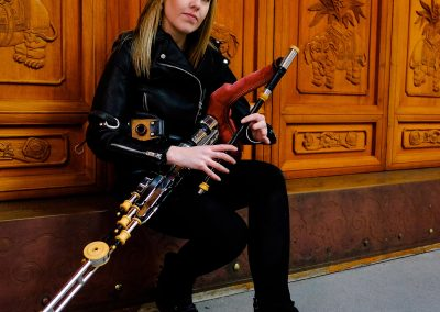 Catherine ashcroft and uilleann pipes